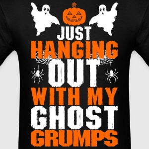 Just Hanging Out With My Ghost Grumps - Men's T-Shirt