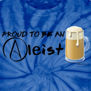 Proud To Be An Aleist Unisex Tie Dye T-Shirt - Unisex Tie Dye T-Shirt