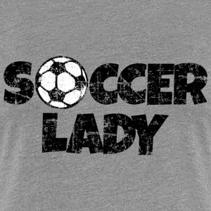 Soccer Lady Women's Soccer Design
