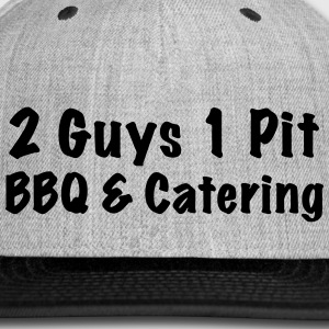 Grey Snap Back 2 Guys 1 Pit - Snap-back Baseball Cap