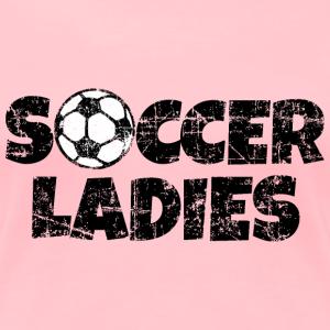 Soccer Ladies Women's Soccer Design