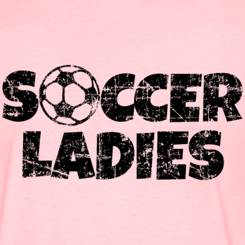 Soccer Ladies Women's Soccer Design
