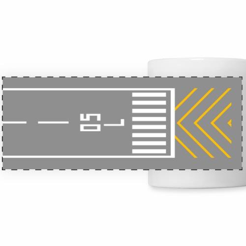 RWY 05L panoramic mug