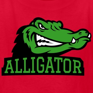 Angry Alligator Logo Kids' Shirts - Kids' T-Shirt
