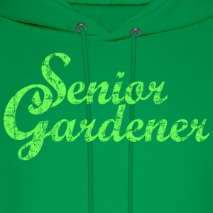 Senior Gardener Garden Design Hoodies - Men's Hoodie