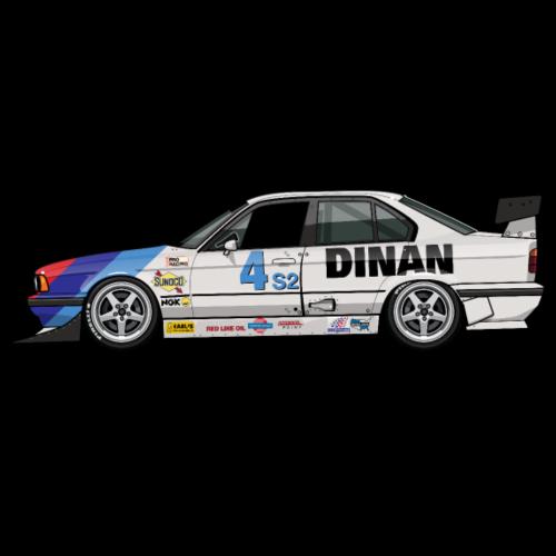 Dinan E34 540i Turbo SCCA