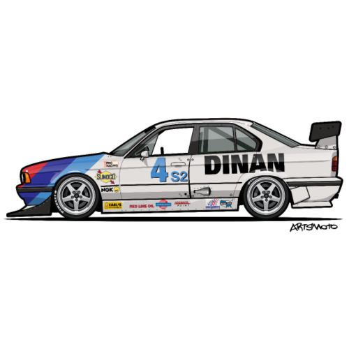 Dinan E34 540i Turbo SCCA Race Car