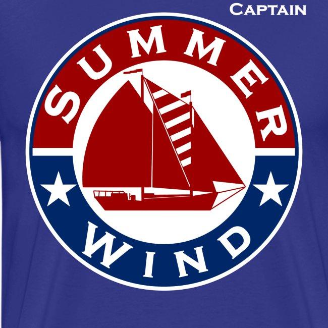 Summer Wind 2017 Crew T Blue