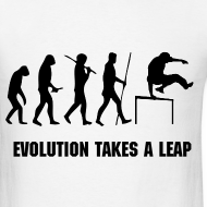 Design ~ EVOLUTION OF PARKOUR MEN''S T-SHIRT