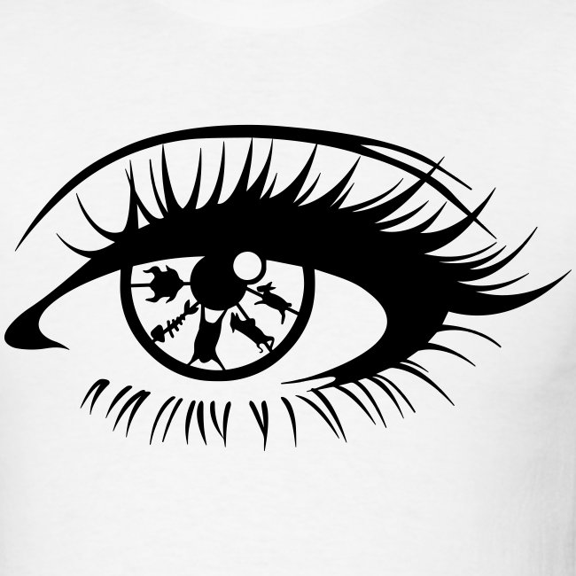 Eye For An Eye Mens White