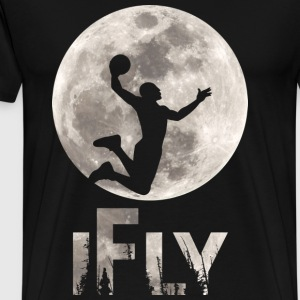 Ifly Basketball T-Shirts - Men's Premium T-Shirt
