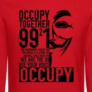 We Occupy Sweater - Crewneck Sweatshirt