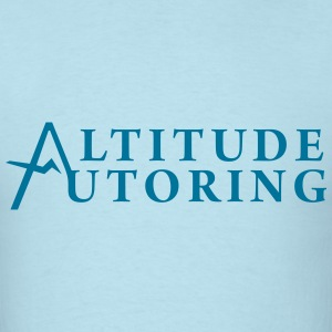 Altitude Tutoring Full Logo - Men's T-Shirt