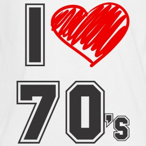 I love 70's! Kids' Shirts - Kids' Premium Long Sleeve T-Shirt