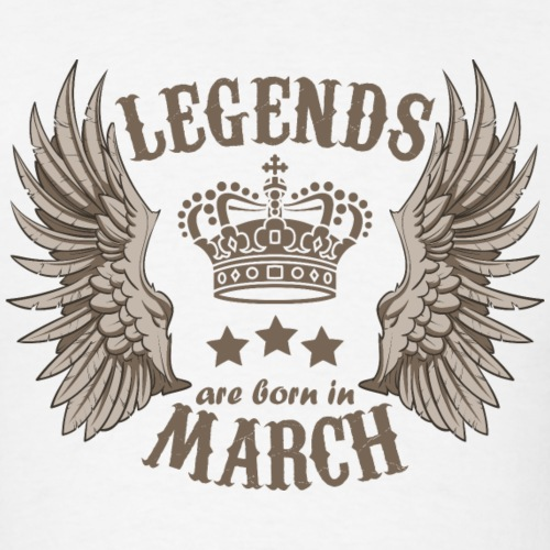 Legends Are Born In March