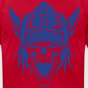 viking_skull T-Shirts - Men's T-Shirt by American Apparel