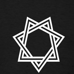 SEVEN POINTED STAR 1 - Men's T-Shirt