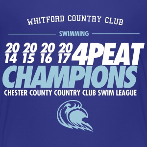 Whitford Champs 2017 - Kids' Premium T-Shirt