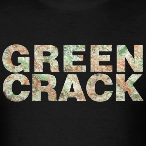 GREEN CRACK.png T-Shirts - Men's T-Shirt