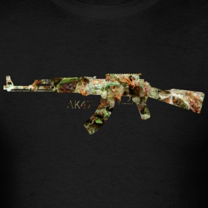AK-47 .png T-Shirts - Men's T-Shirt