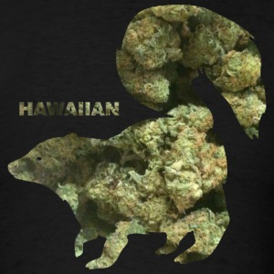 HAWAIIAN SKUNK.png T-Shirts - Men's T-Shirt