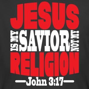 Christian t-shirt Jesus is my Savior - Men's 50/50 T-Shirt