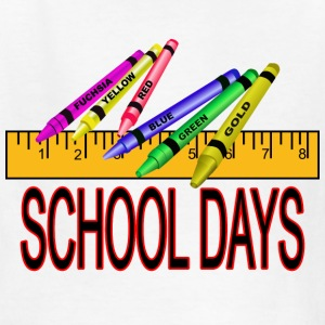 School Days - Kids' T-Shirt