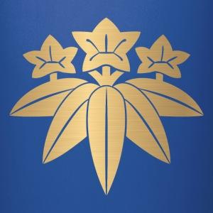 Kamakura Minamoto Mon Japanese clan in faux gold