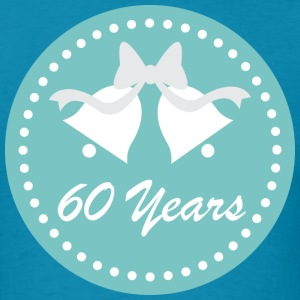 60th Wedding Anniversary 60 Years Gift T-Shirts - Men's T-Shirt