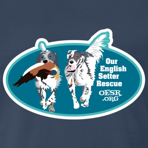 Two English Setters Running - Dog Resuce
