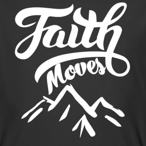 Christian t-shirt Faith Can Move Mountains Jesus - Men's 50/50 T-Shirt