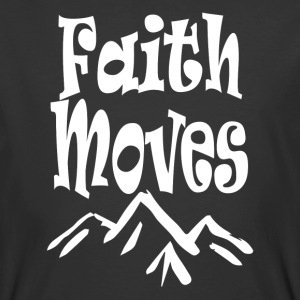 Chrisitan t-shirt Faith Can Move Mountains Jesus - Men's 50/50 T-Shirt