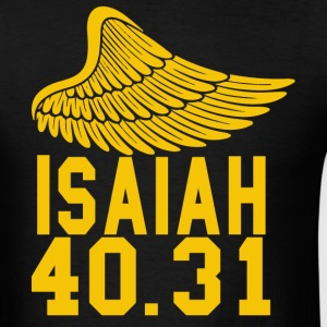 Christian t-shirt Isaiah 40.31 Jesus t-shirt - Men's T-Shirt