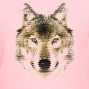 Wolf, Polygonal, Wolves, Wildlife, Dogs T-shirts - T-shirt pour femmes