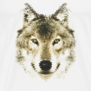 Wolf, Polygonal, Wolves, Wildlife, Dogs T-shirts - T-shirt premium pour hommes