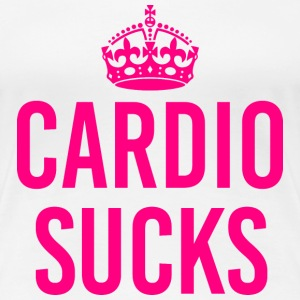 CARDIO SUCKS - Women's Premium T-Shirt