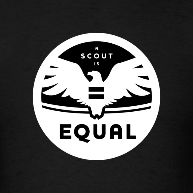 """Men's """"A Scout is Equal"""" T-Shirt"""