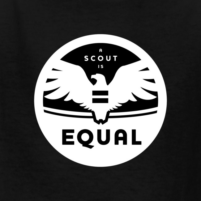"""Kid's """"A Scout is Equal"""" T-Shirt"""