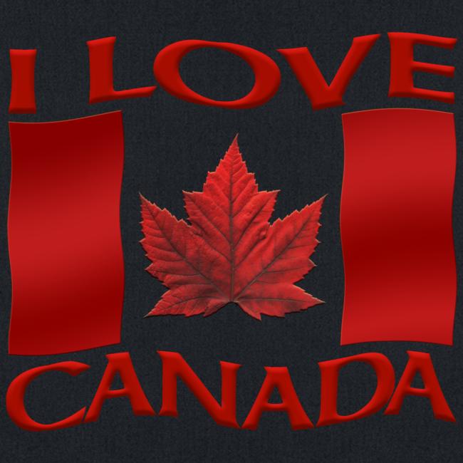 I Love Canada Tote Bags Canada Souvenir Bags