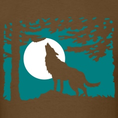 wolf_in_the_night T-Shirts