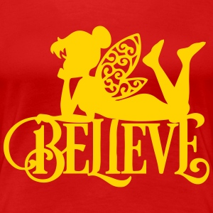 Believe Fairy T-Shirts - Women's Premium T-Shirt