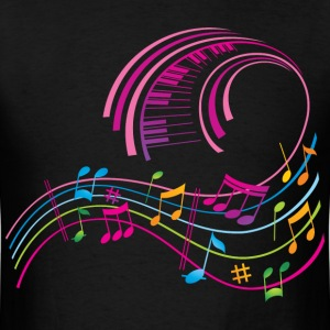 Music Art T-Shirts - Men's T-Shirt