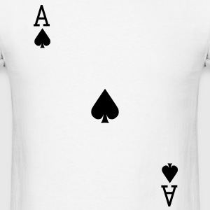 Ace of Spades - VECTOR T-Shirts - Men's T-Shirt