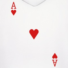 Ace of Hearts Hoodies