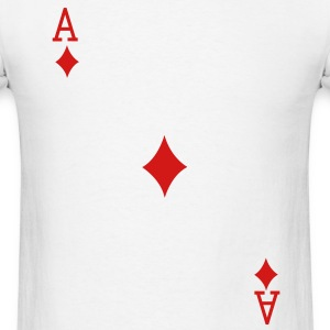 Ace of Diamonds T-Shirts - Men's T-Shirt