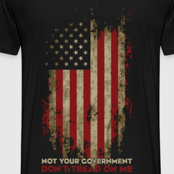 Definition of True Patriotism! - Men's Premium T-Shirt