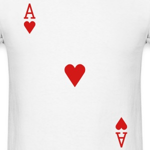Ace of Hearts T-Shirts - Men's T-Shirt