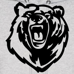 Grizzly Bear VECTOR Hoodies - Men's Hoodie