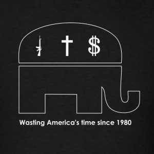 Wasting America's Time (Standard Weight) - Men's T-Shirt