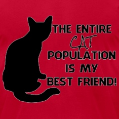 The cat population  T-Shirts